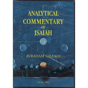 Analytical Commentary of Isaiah MP3